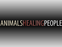 ANIMALS HEALING PEOPLE LOGOS